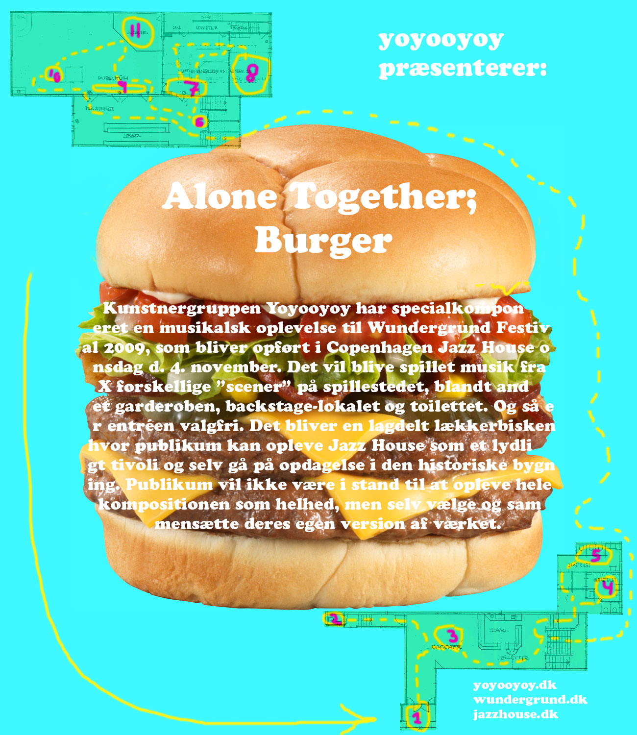 yoyooyoy alone together burger